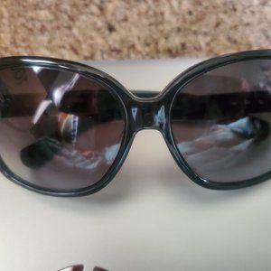 Authentic COACH Blk/Grey Sunglasses S2029 Like New